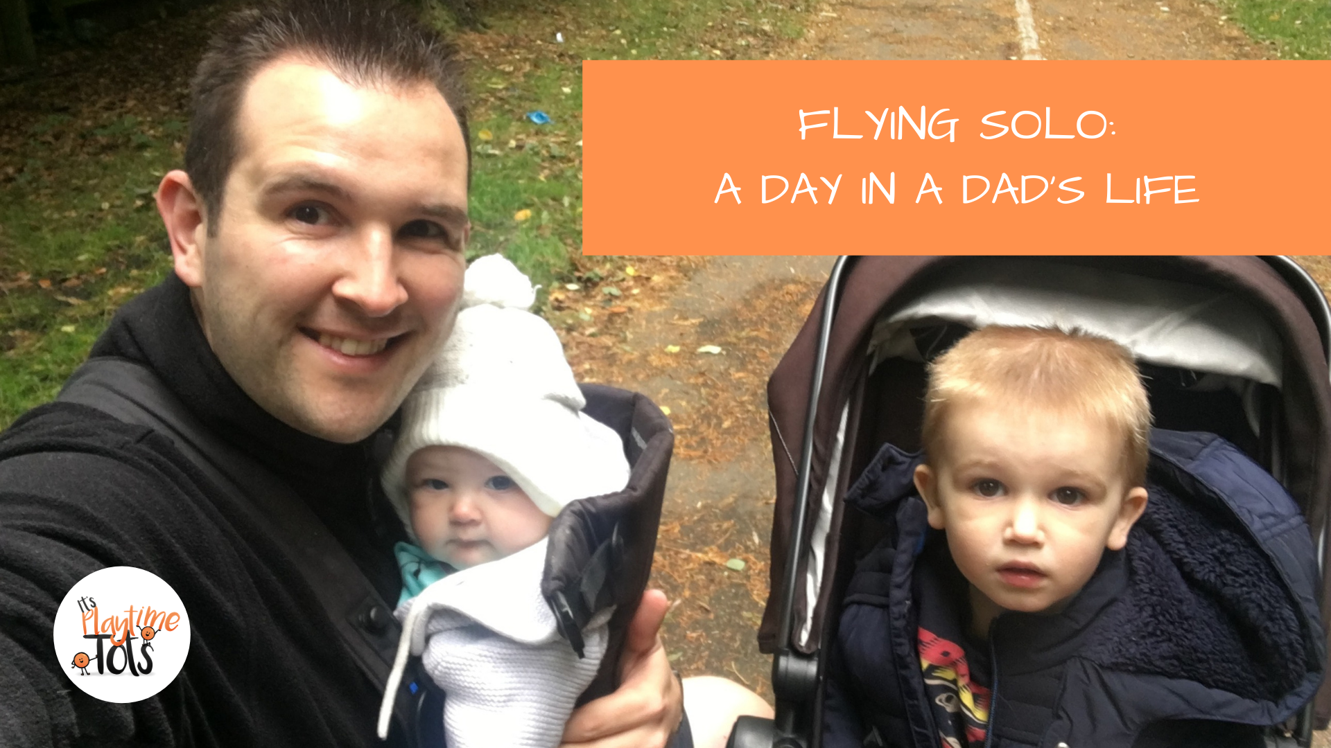 Flying Solo: A Day in a Dad's Life!