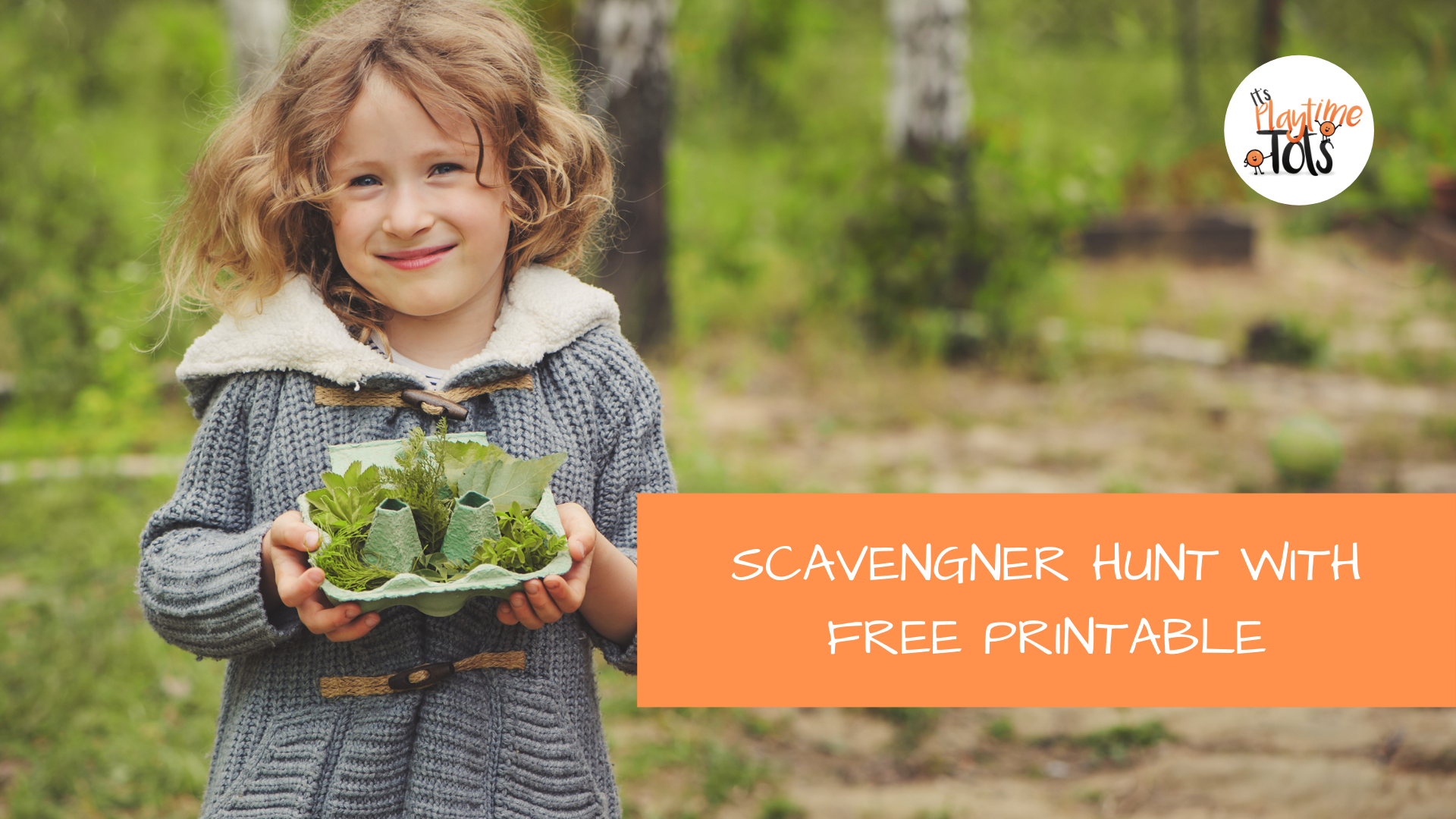 Scavenger Hunt with Free Printable